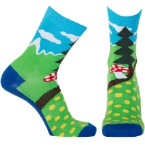 SpringInTheForest Socken