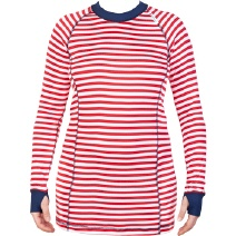 Striped Funktionsshirt